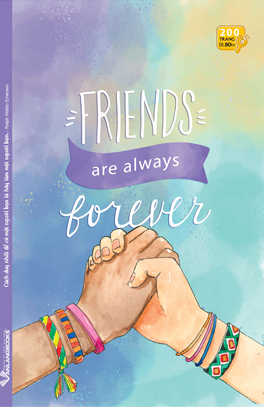 Tập SV 200 Trang - Friends Are Always Forever